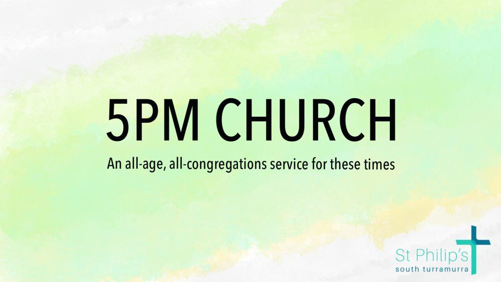 5pm Church